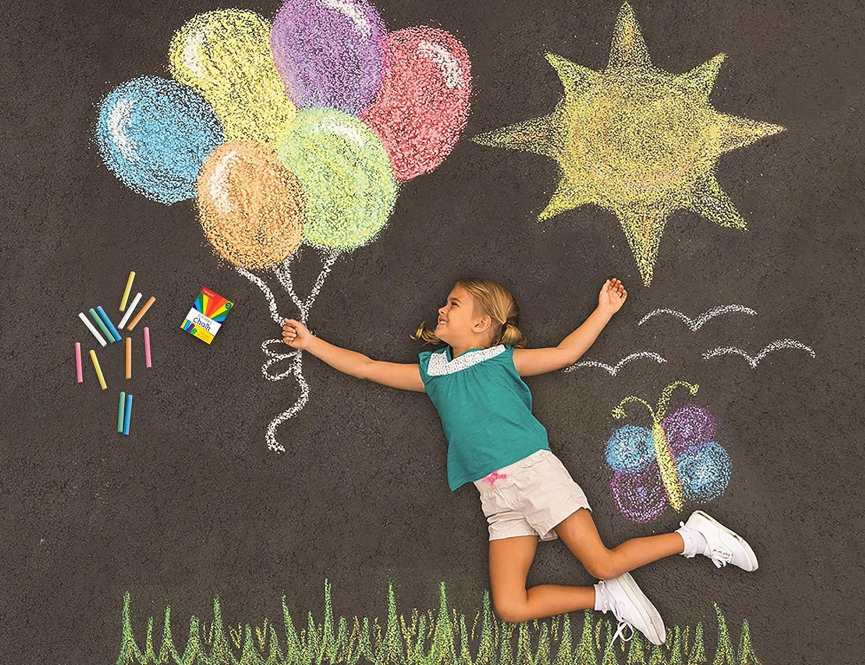 36PCS Sidewalk Chalk Craft Chalkboard/Supplies/for Kids Children Toddlers Indoor Outdoor/