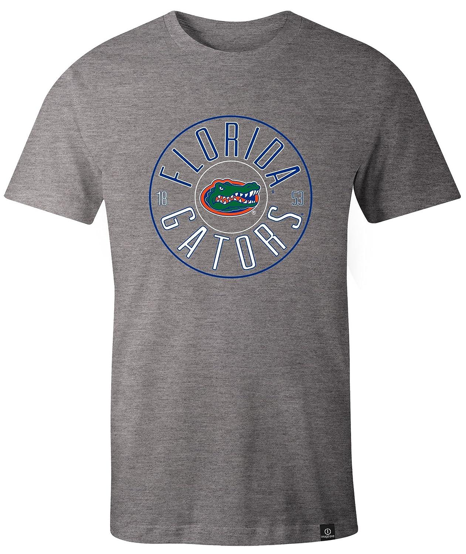Large,HeatherGrey NCAA Florida Gators Adult NCAA Circles Image One Everyday Short sleeve T-Shirt