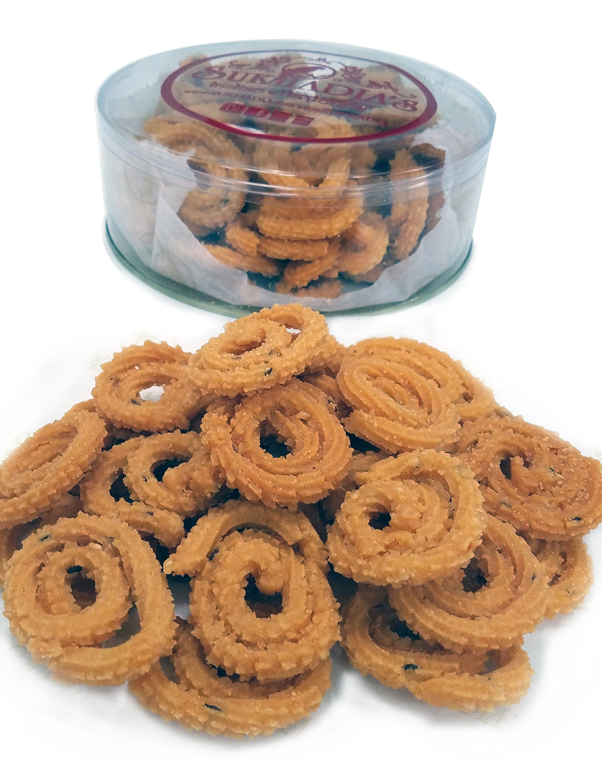 Sukhadia's Indian Snacks, Chakri, 12oz