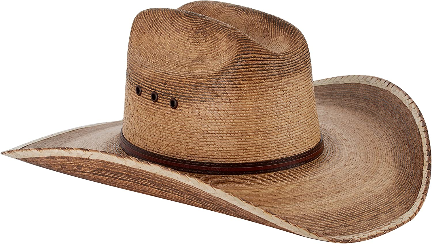 Western Cattleman Straw Cowboy Hat for Men at Amazon Men's Clothing store