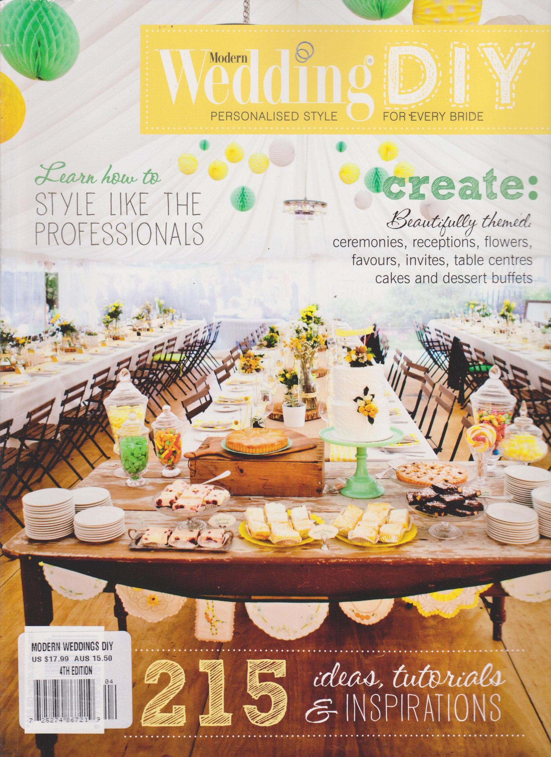 Modern Wedding DIY Magazine 4th Edition PDF