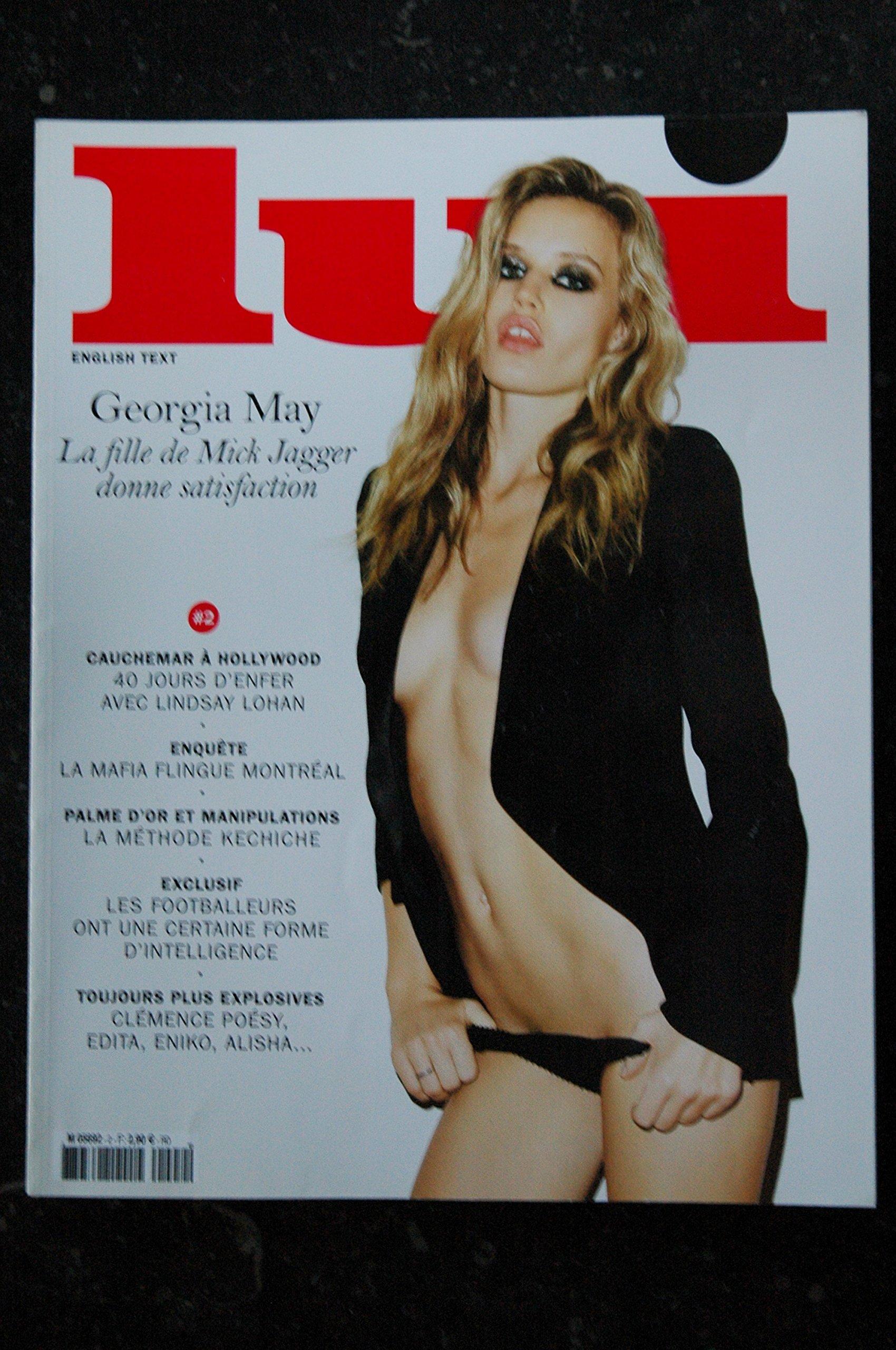 May  Georgia nackt Jagger Pixee Fox