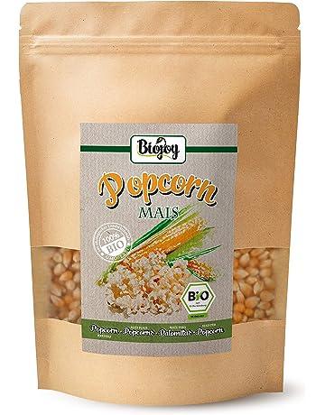 Maiz para palomitas ecologico | Maíz procedente de agricultura ecológica para palomiteros, no modificado genéticamente (sin OGM) | Magnifico aperitivo de ...