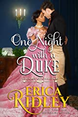 One Night with a Duke: A Regency Christmas Romance (12 Dukes of Christmas Book 10) Kindle Edition