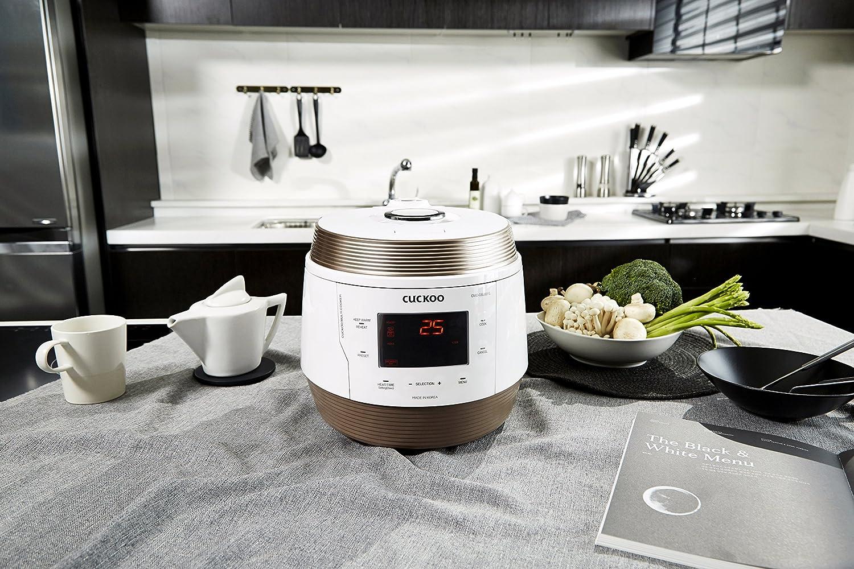 Cuckoo CMC-QSB501S ICOOK Q5 - Robot de cocina (8 en 1, acero inoxidable): Amazon.es: Hogar