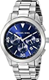Michael Kors Men's Gareth Silver-Tone Watch MK8451