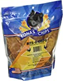 2 Pack - KONA'S CHIPS BITS-O- CHIPS 8 OZ; Dog Treats Made In USA ONLY – 100% USDA Chicken, All Natural, Healthy & Safe Treats For Your Dog. Smaller Jerky Pieces for Small Dogs.