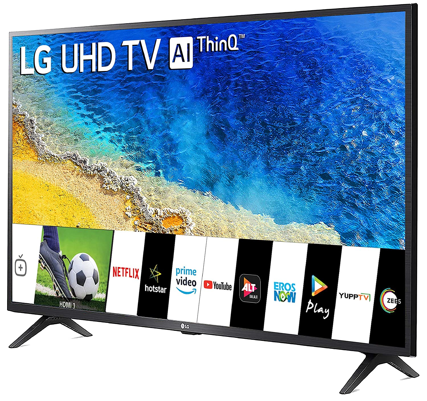 LG 108 cm (43 inches) 4K UHD Smart LED TV