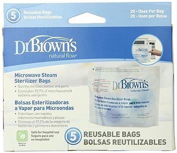 Amazon.com : Microondas Esterilizador de vapor Bolsas : Baby