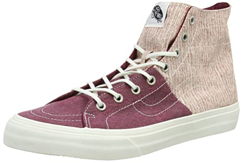 Vans Scarpe Sneaker SK8-Hi Decon SPT, Unisex, da Adulto, Nero (