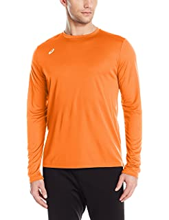 976df41ad06e Amazon.com  ASICS Men s Mesh Long Sleeve Crew Top  Sports   Outdoors