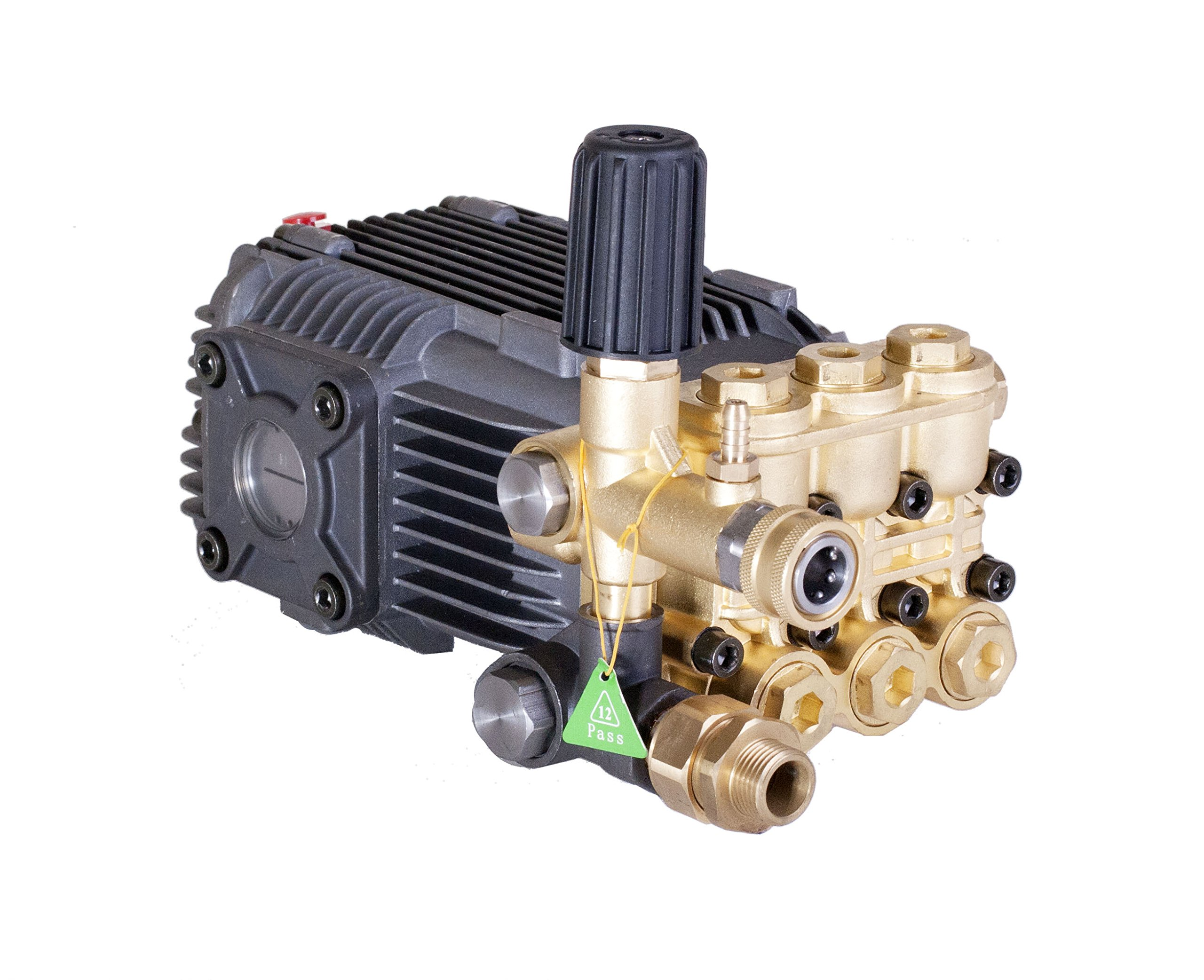 Pressure Power Washer Replacement Pump Solid Shaft 24 mm Belt Drive 3600 PSI by Canpump (Image #2)