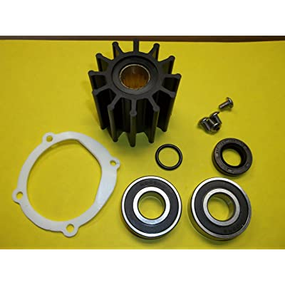 The ROP Shop | Water Pump Repair Kit for Johnson F6B-9 Raw Water Impeller Pumps: Garden & Outdoor
