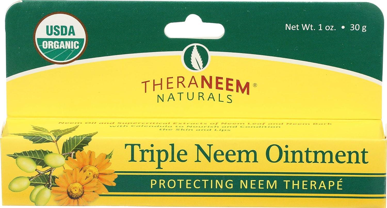 Organix South Triple Neem Ointment Organic Salve, 1 Ounce : Vitamins : Beauty