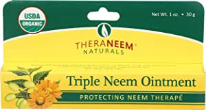 Organix South Triple Neem Ointment Organic Salve, 1 Ounce