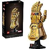 LEGO® Marvel Sonsuzluk Eldiveni 76191 Koleksiyonluk Yapım Seti; Sonsuzluk Taşlarıyla Thanos'un Sağ El Eldiven Modeli…