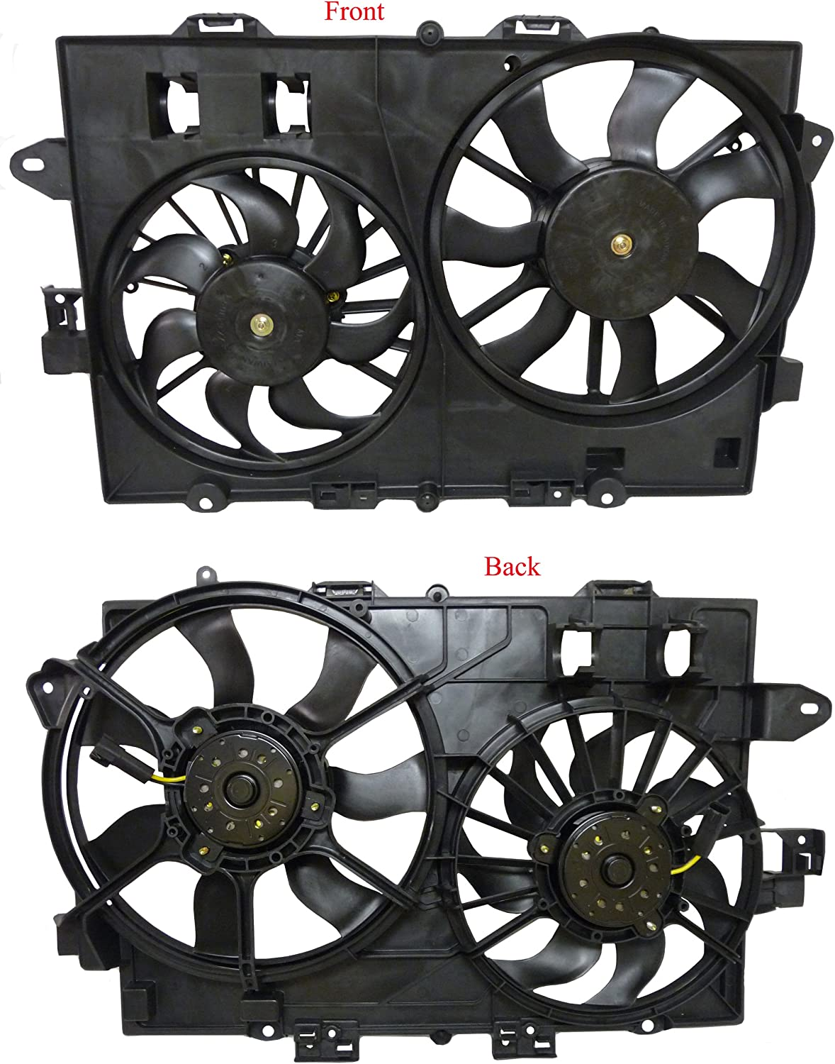 Radiator Cooling Fan Assembly For 06-08 Chevy Equinox Pontiac Torrent 19129813