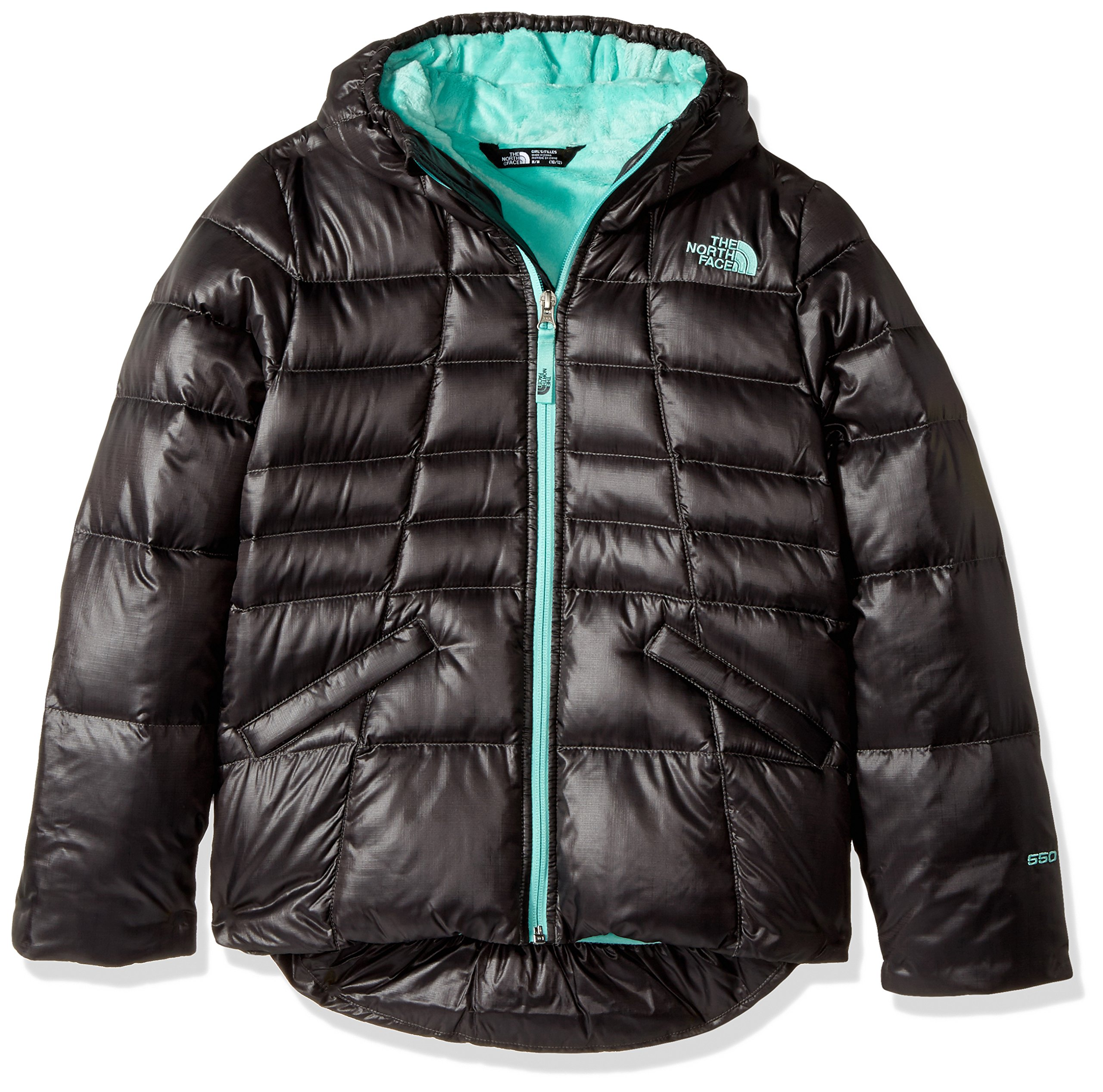 The North Face Youth Girls' Moondoggy 2.0 Hoodie - graphite grey, l/14-16