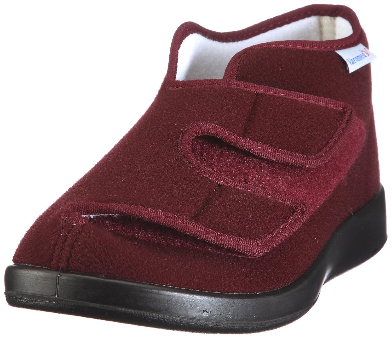 Varomed Genua 60.920-03 - Zapatillas de casa de tela unisex 39 EU Rojo
