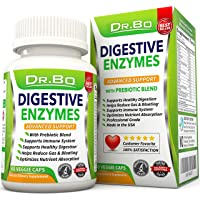 Digestive Enzymes - Enzyme Supplements for Digestion with Lipase Amylase Bromelain...
