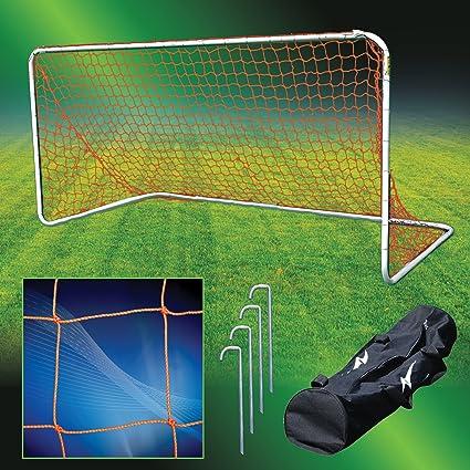 ff3740040 Amazon.com : Agora Aluminum Portable Soccer Goal - 5'x10' : Sports &  Outdoors