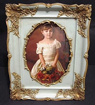 Amazoncom Vintage Looking Oval Victorian Style 5 X 7 Shabby