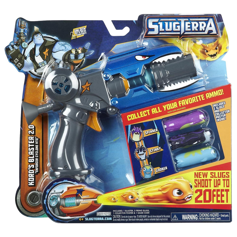 SlugTerra - Pistola 2.0 con 3 municiones slugs (Giochi Preziosi) - Surtido: modelos y colores aleatorios 8021