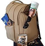 Cool Bag cooler Backpack in Beige.