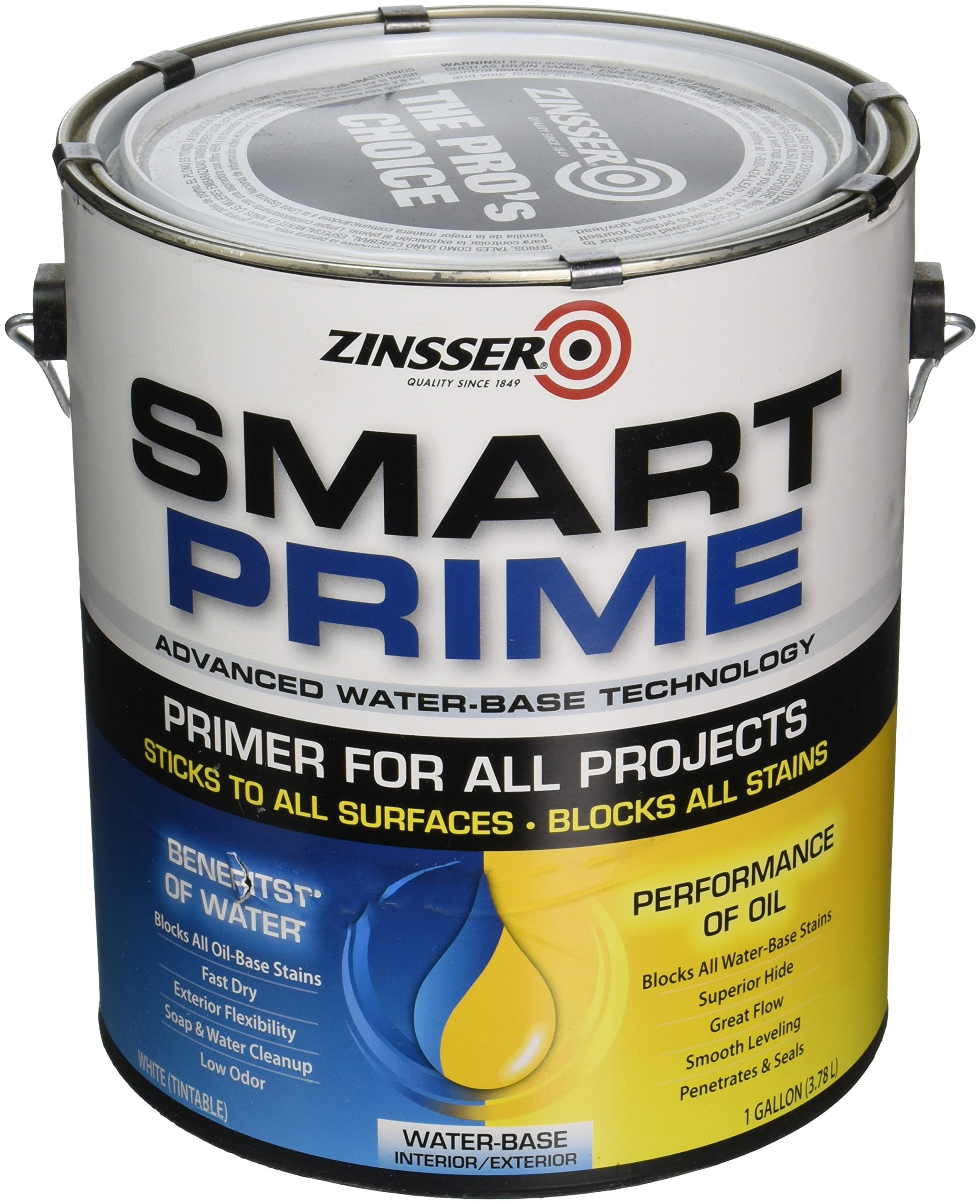 Rust-Oleum 249729 Smart Prime Primer, 1-Gallon, White