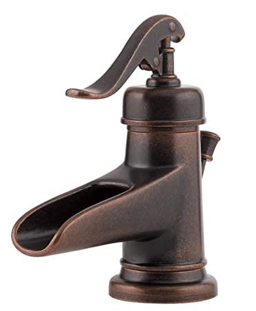 Superior Pfister Ashfield Single Control 4u0026quot; Centerset Bathroom Faucet, Rustic  Bronze