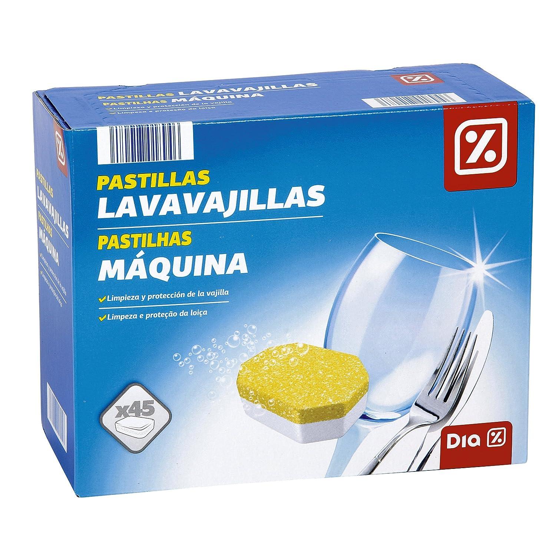 DIA - Lavavajillas Máquina Caja 45 Pastillas: Amazon.es ...
