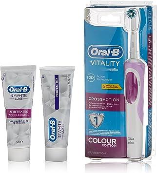 Oral-B Cepillo Eléctrico + Dentífrico 3D White + Dentífrico 3D ...