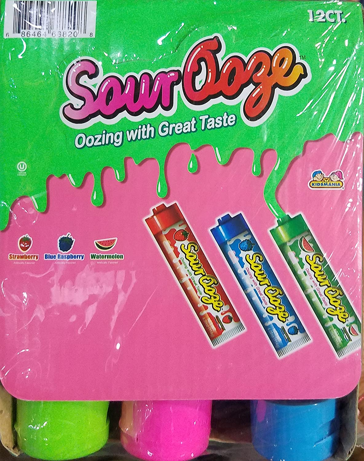 Ooze Sour 12 Count
