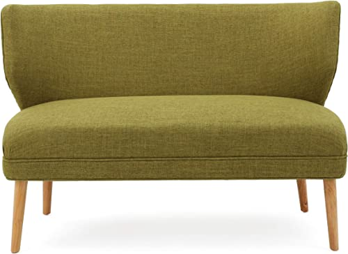 Christopher Knight Home Desdemona Mid-Century Fabric Loveseat