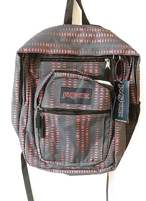 JanSport Big Student Backpack Warped Geo