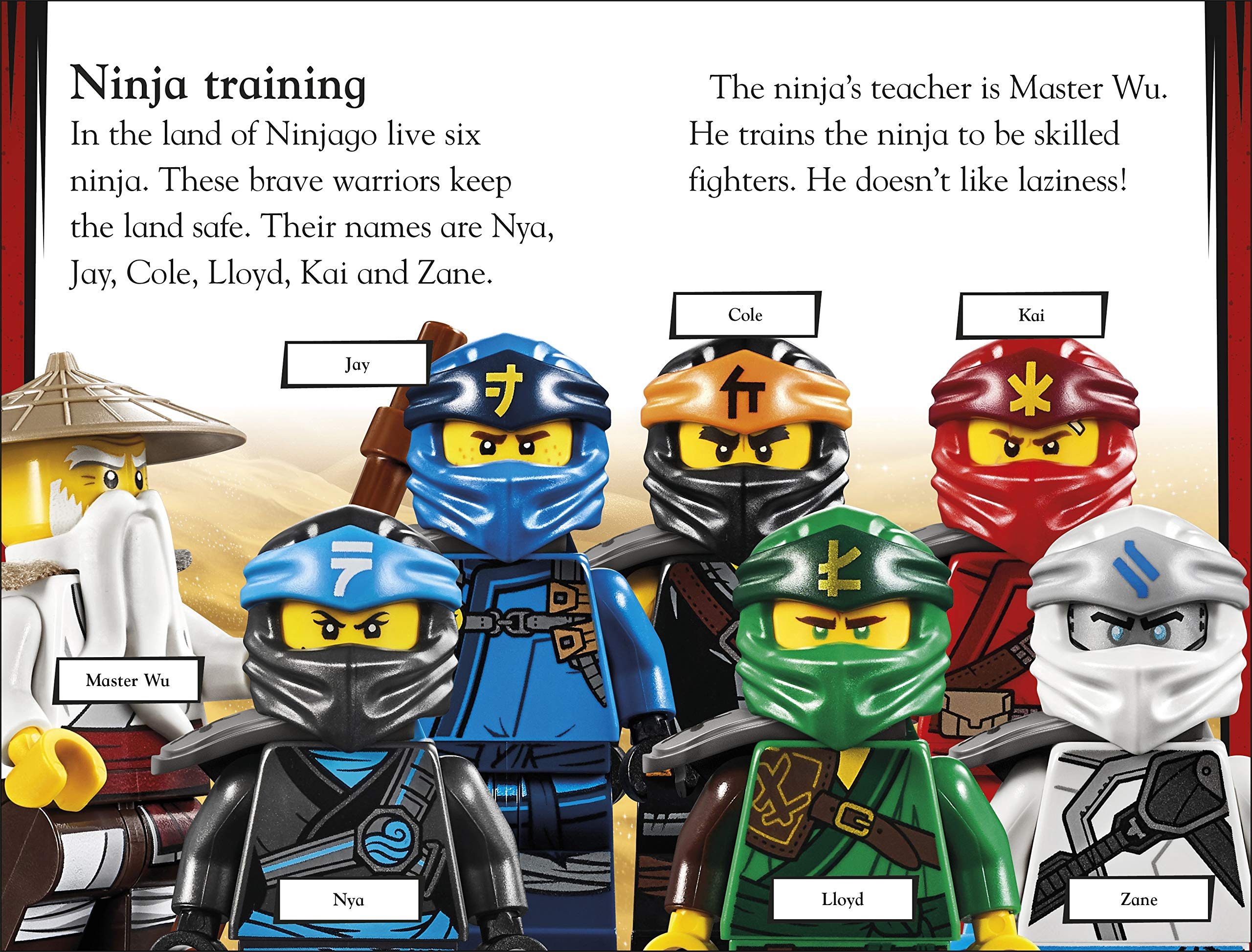 Amazon.com: LEGO NINJAGO How To Be A Ninja (DK Readers Level ...