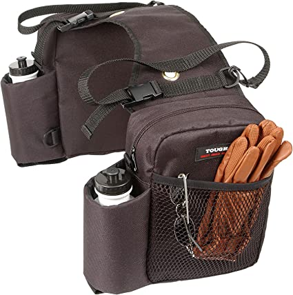 New Brown Tough 1 Nylon Water Bottle//Gear Carrier Saddle Bag Free Shipping