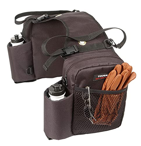 Tough 1 Nylon Water Bottle/Gear Carrier Saddle Bag