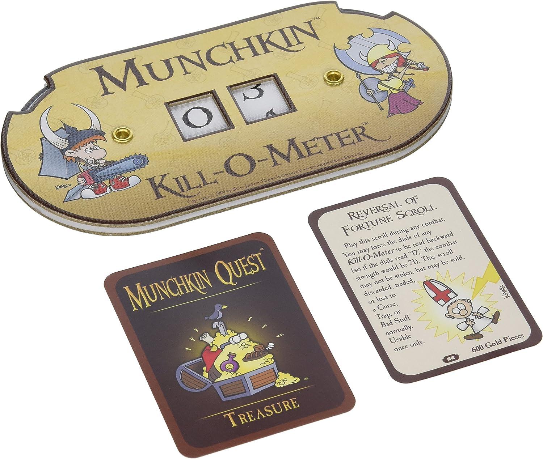 Steve Jackson Games 5506 Munchkin Kill-O-Meter - Accesorio ...