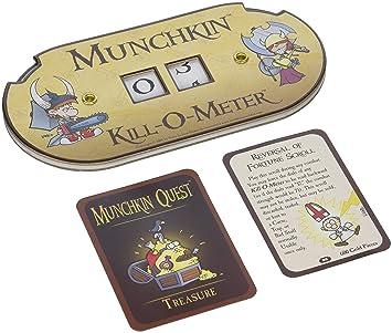 Steve Jackson Games 5506 Munchkin Kill-O-Meter - Accesorio Contador para Juego de Cartas Munchkin