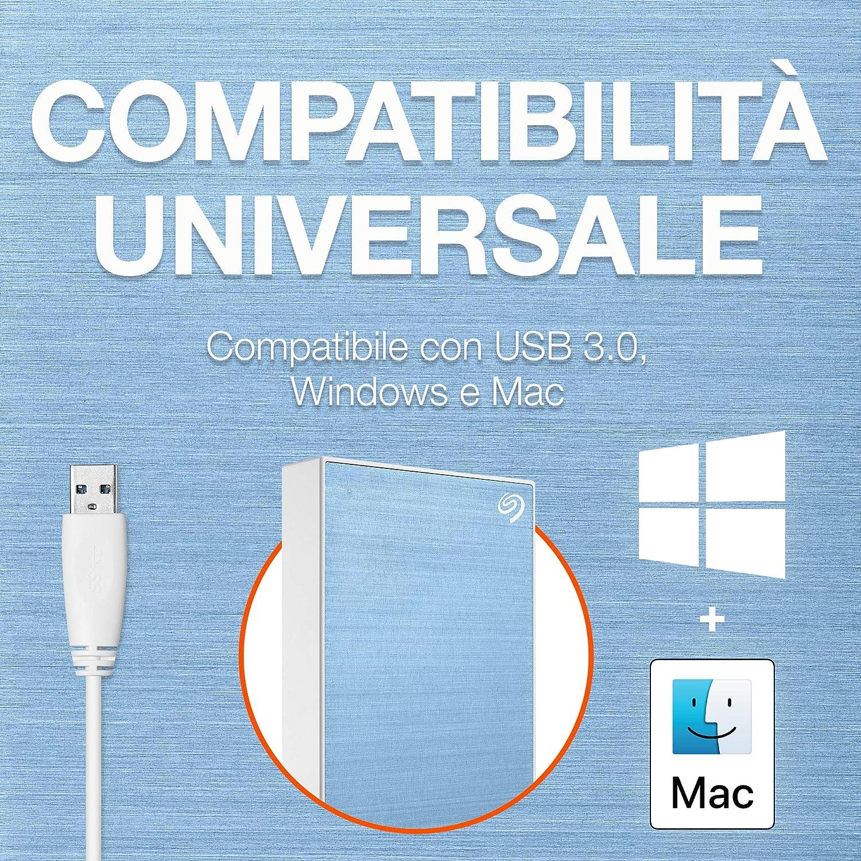4 mesi al piano Adobe Creative Cloud Photography argento USB 3.0 per computer desktop STKB1000401 1 anno a Mylio Create Seagate One Touch da 1 TB portatili e Mac unit/à disco esterna