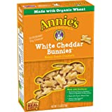 Annie's White Cheddar Bunnies, Baked Snack Crackers, 7.5 oz Box