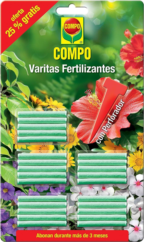 Compo 1205002011 - Varitas fertilizantes, 1 Pack de 30 unidades