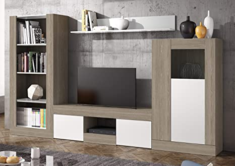 Miroytengo Pack Muebles modulares salón Comedor Karla 4 ...