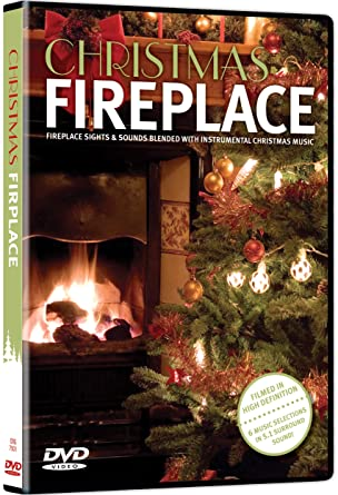 Fireplace With Christmas Music.Amazon Com Christmas Fireplace N A Various Movies Tv
