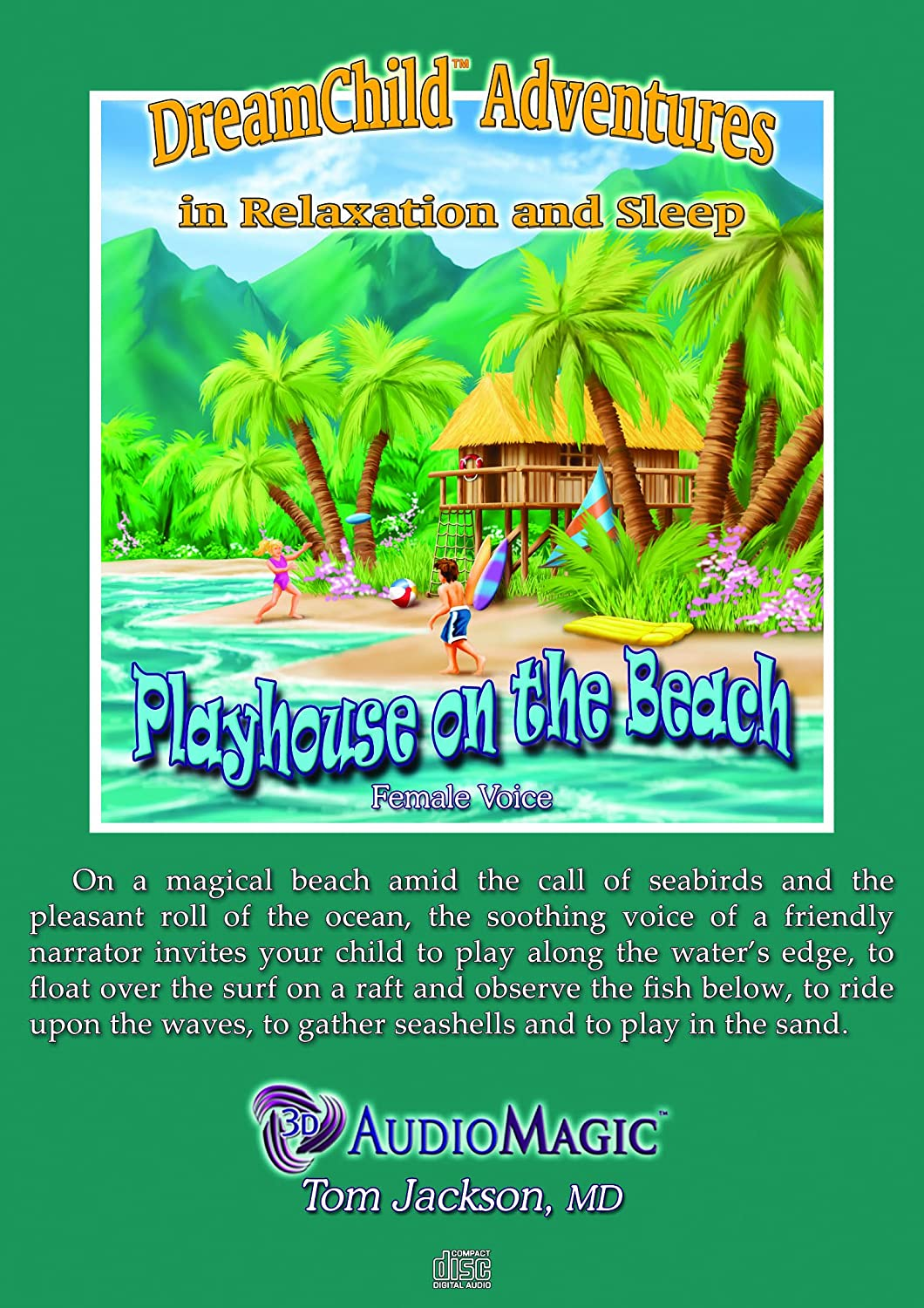 Tom Jackson M.D. - Playhouse on the Beach (Female Voice) - Amazon.com Music