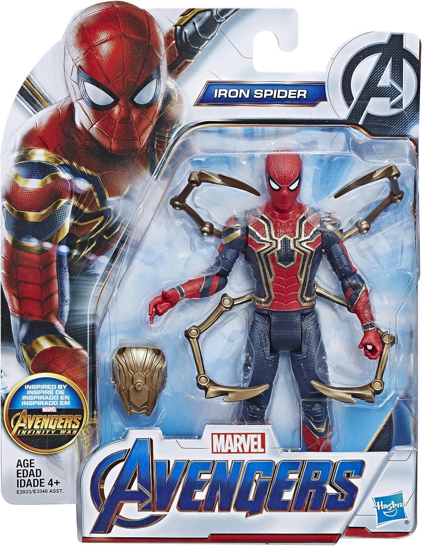 "Iron Spider-Man Marvel Avengers Issue Basic 6/"" Action Figure"
