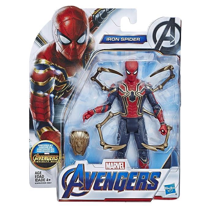 Amazon.com: Figura de acción de Marvel Iron Spider de ...
