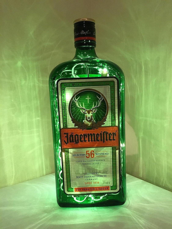 Jagermeister Lamp / Liquor Lamp / Bar Light