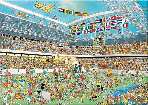 Diset - Puzzle España en la Copa del Mundo 14, 1000 Piezas ...